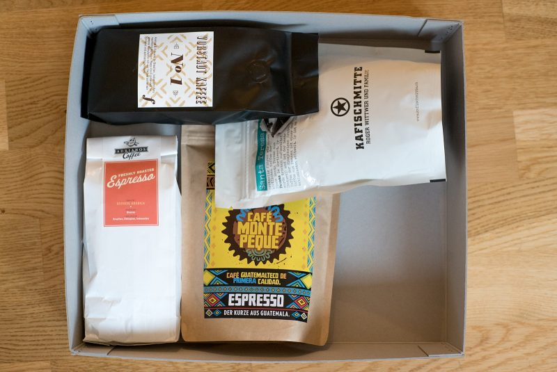 Fresh Coffee Month Packung
