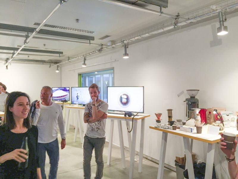 Kaffeebar @ Diplomausstellung 5.K10 Cast / Audiovisuelle Medien ZHdK