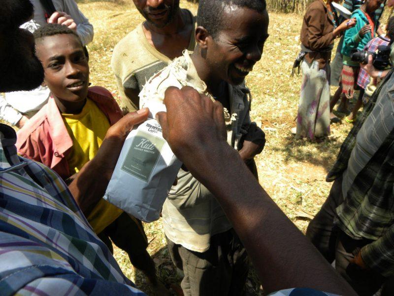 Kuti-Kaffee von Adrianos in Äthiopien